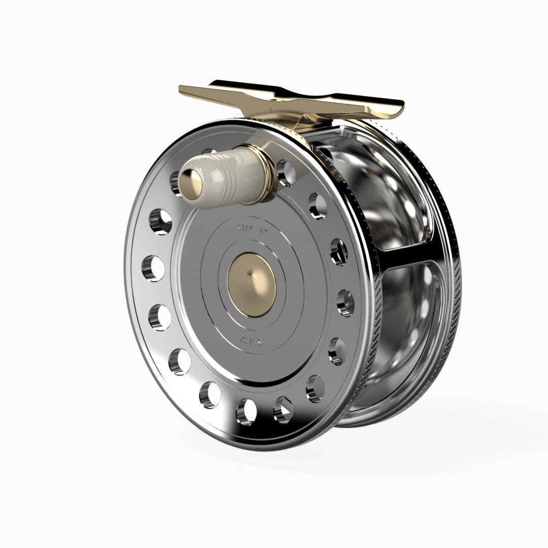 VRDesign reel Trutta Perfetta Titanium 360 60